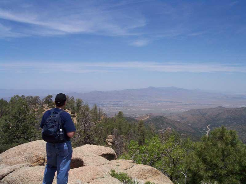 Hiking in Hualapai Mountain Park