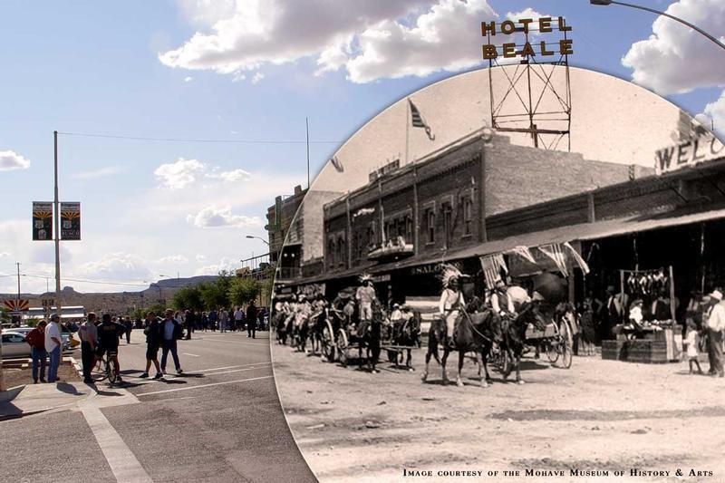 Kingman Today & in 1910