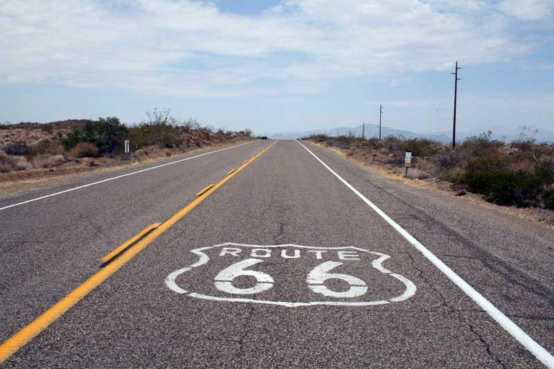Traveling down Route 66