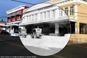 Central Commercial today & ca 1920