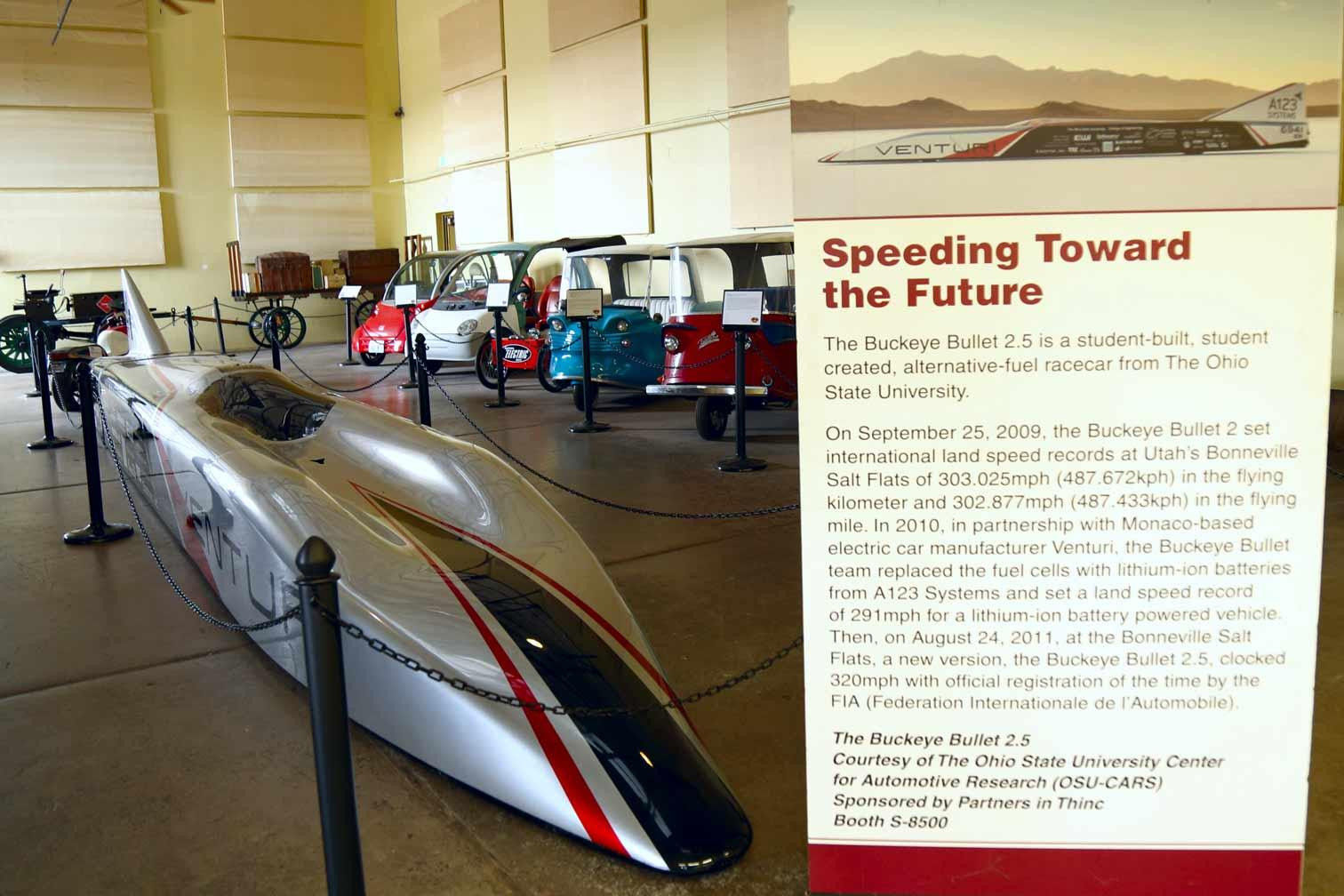 World's Fastest Electric Car in Kingman, AZ