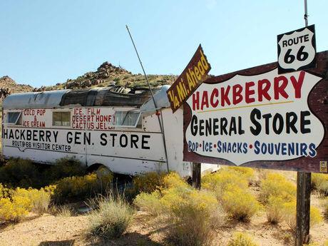 Map Of Old Route 66 Arizona.66 Things To See Do On Route 66