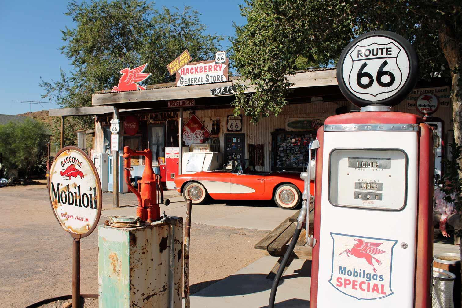 Things To See Do On Route - Route 66 cruisers car show list