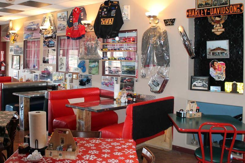 Inside Hot Rod Cafe