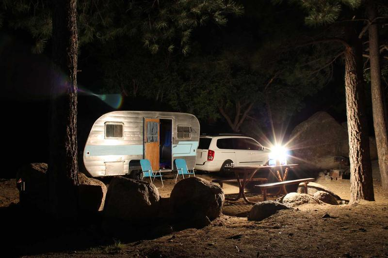 Camping in the Hualapai Mountains