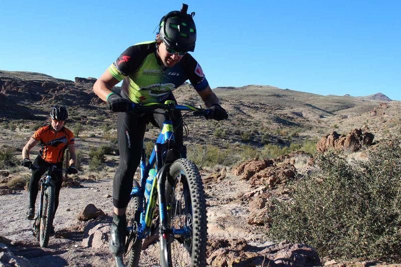 Mountain Biking Kingman Trails