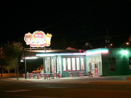 Mr. D'z Route 66 Diner in Kingman, Arizona