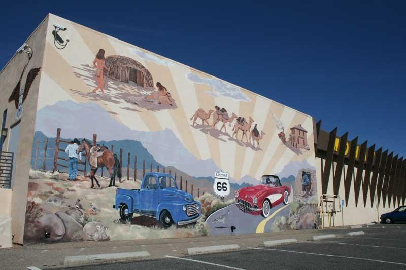Mohave Museum of History & Arts wall mural