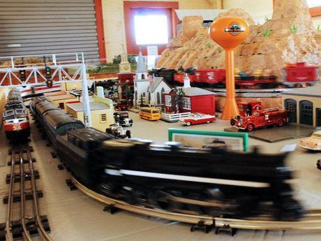 Model railroad buffs. A must see at the Kingman Railroad Museum on Route 66, in Historic Kingman..
