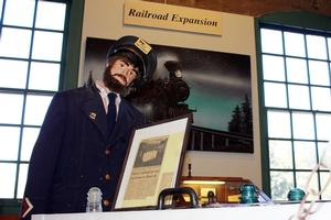 Route 66 Museum Railroad Expansion display