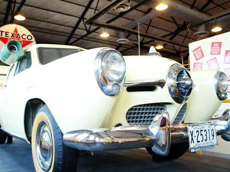 1950 Studebaker Champion 4-door, can be seen in the Historic Powerhouse Route 66 Museum.