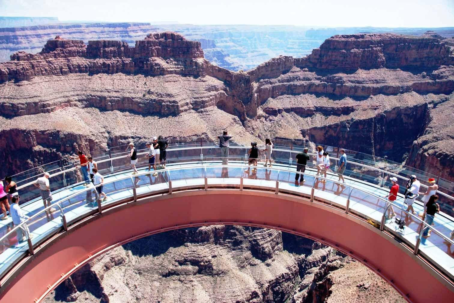 Grand Canyon West Home Of The Skywalk Kingman Tourism