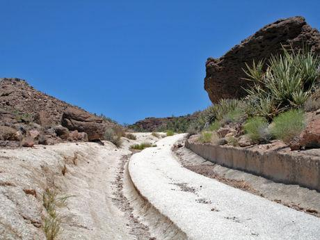 White Cliff Wagon Trail. Just a short hike from the parking area near Historic Downtown Kingman.