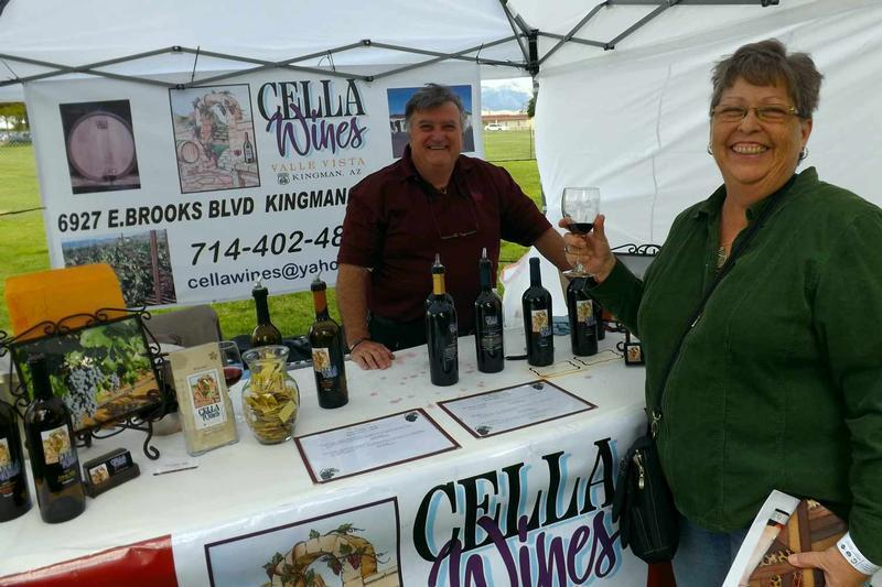 Cella Wines at the 2015 Wine & Food Festival